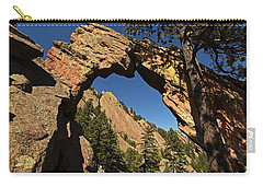 Royal Arch Trail Arch Boulder Colorado Carry-all Pouch