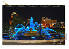 Royal Blue J. C. Nichols Fountain  Carry-all Pouch