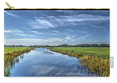 Royal Canal And Grasslands Carry-all Pouch