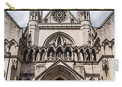 Royal Courts Of Justice In London Carry-all Pouch