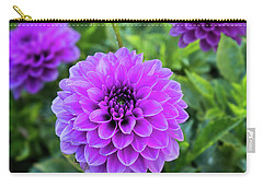 Royal Dahlia Delight Carry-all Pouch