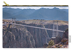 Royal Gorge Bridge Colorado Carry-all Pouch by James BO Insogna