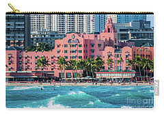 Royal Hawaiian Hotel Surfs Up Carry-all Pouch