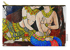Royal Lovers Of Siam  Carry-all Pouch by Ian Gledhill
