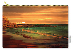 Royal Palms Beach At White Point Carry-all Pouch