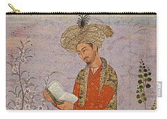Royal Reader Carry-all Pouch by Asok Mukhopadhyay