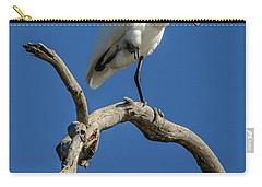 Royal Spoonbill 01 Carry-all Pouch