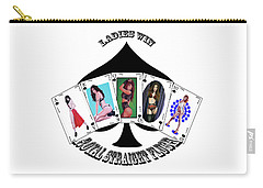 Royal Straight Flush Spades 2 Carry-all Pouch