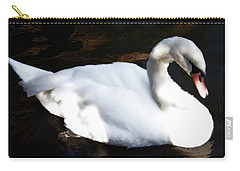Royal Swan Carry-all Pouch