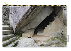 Royal Tomb, Machu Picchu, Peru Carry-all Pouch by Aidan Moran