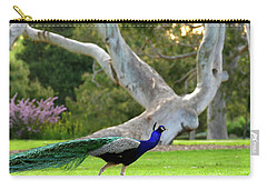 Carry-all Pouch featuring the photograph Royalty by Evelyn Tambour