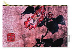 Carry-all Pouch featuring the painting Roys Collection 4 by John Jr Gholson