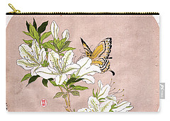 Carry-all Pouch featuring the painting Roys Collection 5 by John Jr Gholson