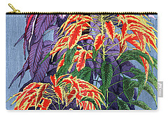 Carry-all Pouch featuring the painting Roys Collection 6 by John Jr Gholson
