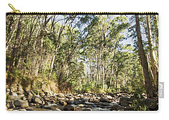 Carry-all Pouch featuring the photograph Rubicon River by Linda Lees