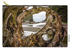Ruby Beach Driftwood 2007 Carry-all Pouch