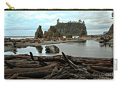 Ruby Beach Driftwood Carry-all Pouch