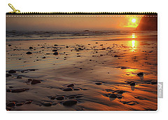 Carry-all Pouch featuring the photograph Ruby Beach Sunset by David Chandler
