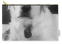 Carry-all Pouch featuring the photograph Ruby by Bruce Carpenter