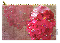 Ruby Colored Orchid Carry-all Pouch