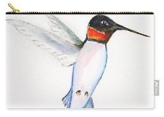 Ruby Hummer Carry-all Pouch