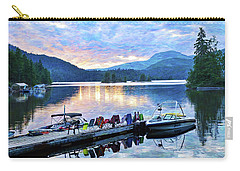 Ruby Lake Carry-all Pouch by Ed Hall