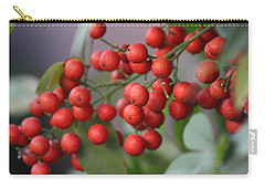 Ruby Red Berries Carry-all Pouch
