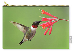 Ruby-throated Hummer Carry-all Pouch