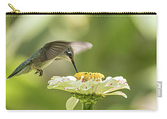 Ruby Throated Hummingbird 2016-8 Carry-all Pouch