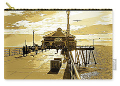 Carry-all Pouch featuring the photograph Ruby's At The Pier by Everette McMahan jr