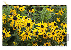 Rudbeckia Aka Black-eyed Susan Carry-all Pouch