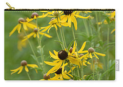 Carry-all Pouch featuring the photograph Rudbeckia Hirta by Maria Urso