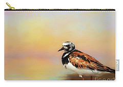 Ruddy Turnstone Carry-all Pouch by Suzanne Handel