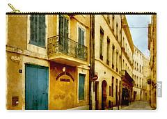 Carry-all Pouch featuring the photograph Rue De La Violette by Scott Carruthers