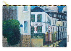 Rue Norvins, Paris Carry-all Pouch