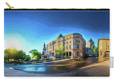 Rue Port Dauphin - Painting Carry-all Pouch