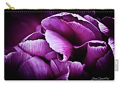 Ruffled Edge Tulips Carry-all Pouch