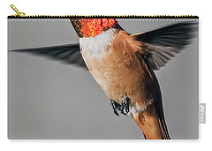 Rufous Male In-flight Carry-all Pouch by Stephen Johnson