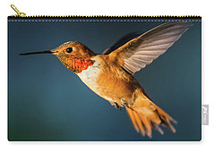 Rufous Carry-all Pouch by Martina Thompson
