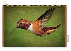 Rufous Portrait Carry-all Pouch