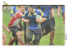 Rugby In The Mud Carry-all Pouch