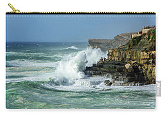 Rugged Coastal Seascape Carry-all Pouch