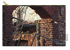 Ruin After Big Fire  Carry-all Pouch