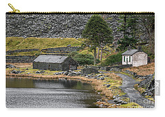 Carry-all Pouch featuring the photograph Ruins At Cwmorthin by Adrian Evans