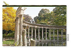 Carry-all Pouch featuring the photograph Ruins In The Park by Victoria Harrington