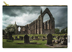 Ruins Of Bolton Abbey Carry-all Pouch by Jaroslaw Blaminsky