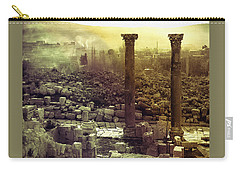 Carry-all Pouch featuring the photograph Ruins Of Jurash by Robert G Kernodle