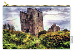 Ruins Of The Old Tin Mine Carry-all Pouch