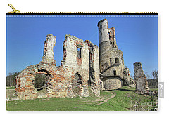 Carry-all Pouch featuring the photograph Ruins Of Zviretice Castle by Michal Boubin