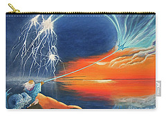 Ruler Of The Seas Carry-all Pouch by Cindy Lee Longhini